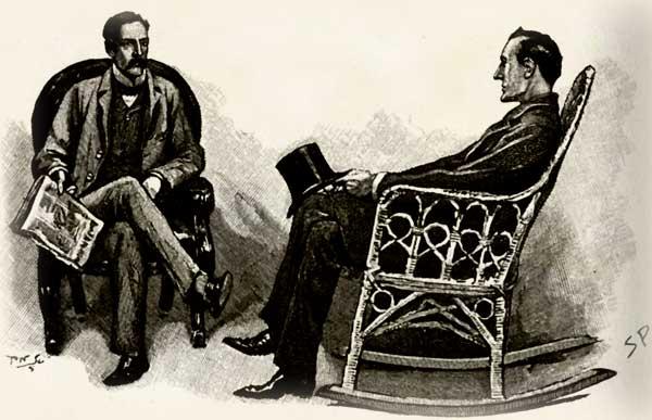 Watson and Holmes in Stockbroker's Clerk